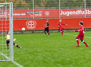 Spiel gegen Leverkusen