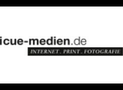 Logo i-cue Medienproduktion GmbH & Co. KG, Würzburg